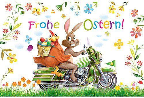 Wir wünschen Ihnen ein schönes Osterfest!