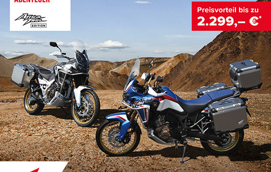 Honda Africa Twin Travel Aktion!