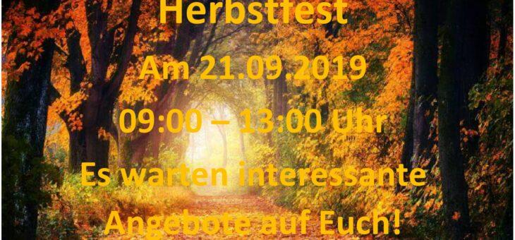 Herbstfest am 21.09.2019