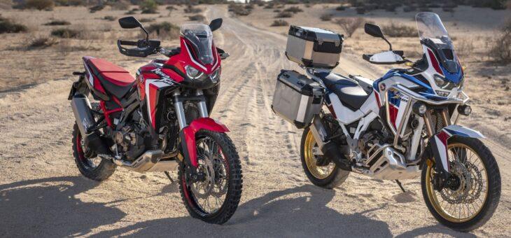 Die neue CRF1100L Africa Twin kann sich sehen lassen! Sie können sich die neuen Africa Twins jetzt schon auf der Honda Internetseite anschauen!